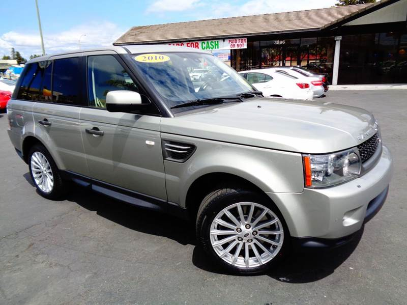 2010 LAND ROVER RANGE ROVER SPORT HSE 4X4 4DR SUV champagne 4wd selector - electronic hi-lo 4wd