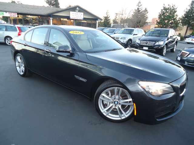 2012 BMW 7 SERIES 750I 4DR SEDAN charcoal m sport hud   heads up  lane assist night vision lu