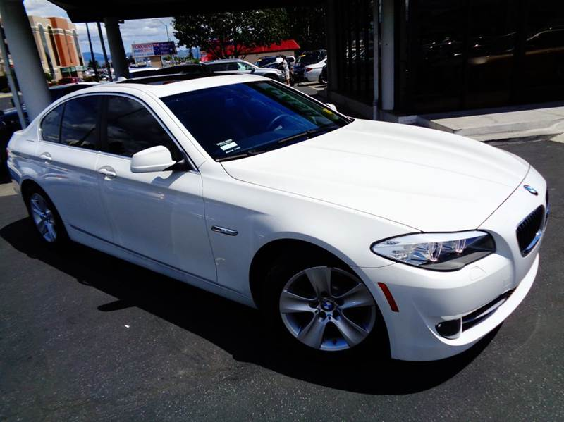 2013 BMW 5 SERIES 528I 4DR SEDAN white 1 owner clean carfax  navigation system premium p