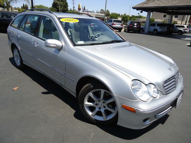 2005 MERCEDES-BENZ C-CLASS C240 4DR WAGON silver first sold as a certified california car