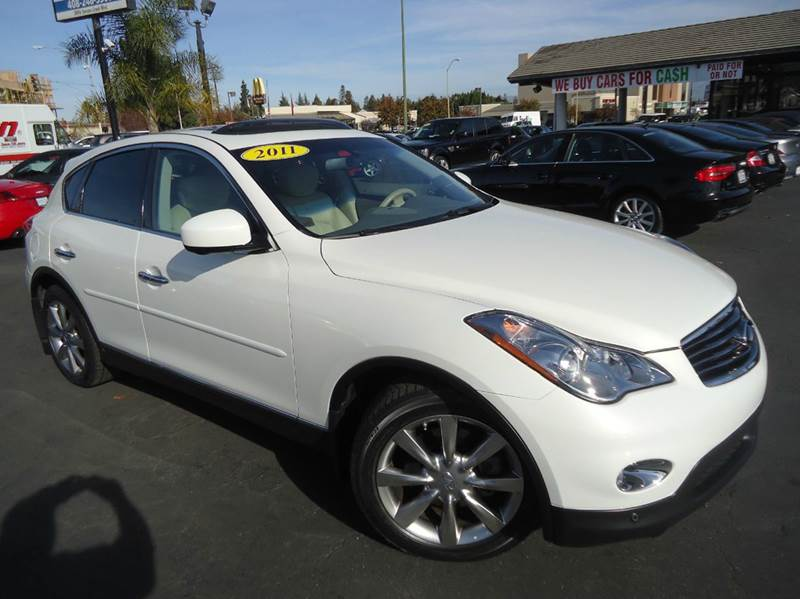 2011 INFINITI EX35 JOURNEY 4DR CROSSOVER white clean carfax  fully loaded infiniti ex35 journey