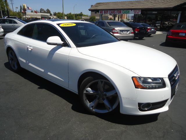 2008 AUDI A5 QUATTRO AWD 2DR COUPE 6A white fully loaded premium packagenavigationban