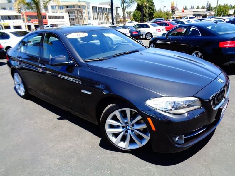 2012 BMW 5 SERIES 535I 4DR SEDAN gray clean carfax  1 ownercalifornia vehicle comes with