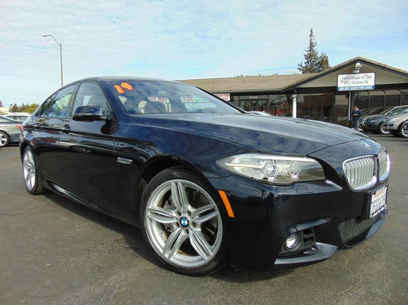 2014 BMW 5 SERIES 550I 4DR SEDAN carbon black clean caraxone ownercalifornia vehiclem