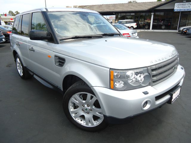 2006 LAND ROVER RANGE ROVER SPORT HSE zermatt silver one owner clean car fax local roversport util
