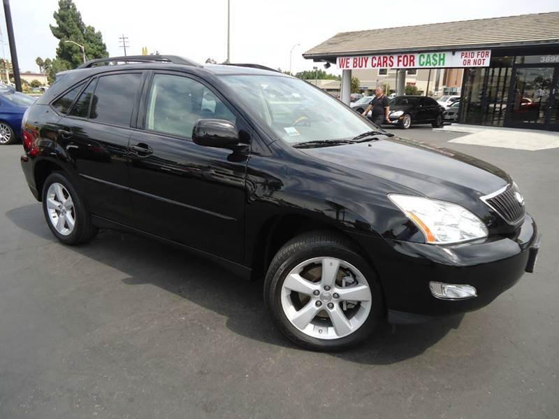 2007 LEXUS RX 350 BASE 4DR SUV black 1 owner  clean carfax all wheel drive low mileage