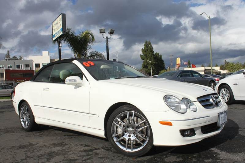 2009 MERCEDES-BENZ CLK CLK 350 2DR CONVERTIBLE white clean carfaxcalifornia vehicle 2-stage