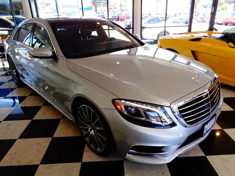 2015 MERCEDES-BENZ S-CLASS S550 4DR SEDAN silver california car 1 owner clean carfax