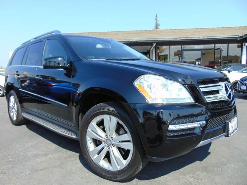 2012 MERCEDES-BENZ GL-CLASS GL 450 4MATIC AWD 4DR SUV black clean carfax reportcalifornia vehi
