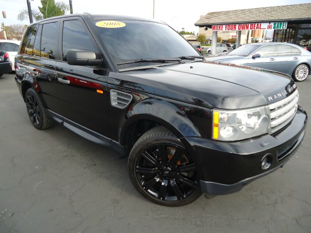 2008 LAND ROVER RANGE ROVER SPORT SUPERCHARGED black this is a clean car fax california carthis