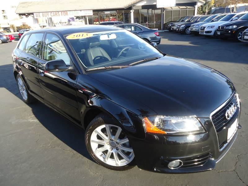 2013 AUDI A3 20 TDI PREMIUM PLUS  WAGON black 1 owner super clean california vehicle come