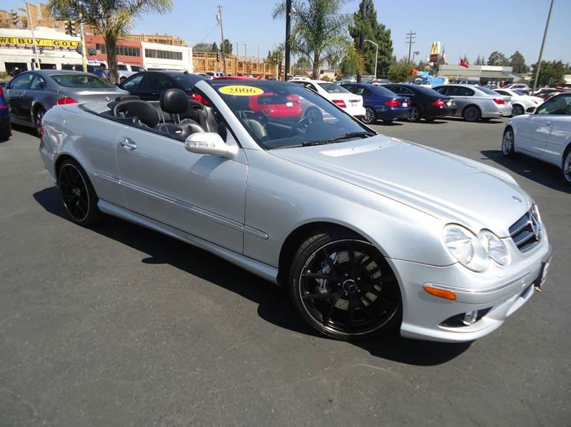 2006 MERCEDES-BENZ CLK-CLASS CLK55 AMG 2DR CONVERTIBLE silver abs - 4-wheel air filtration airb