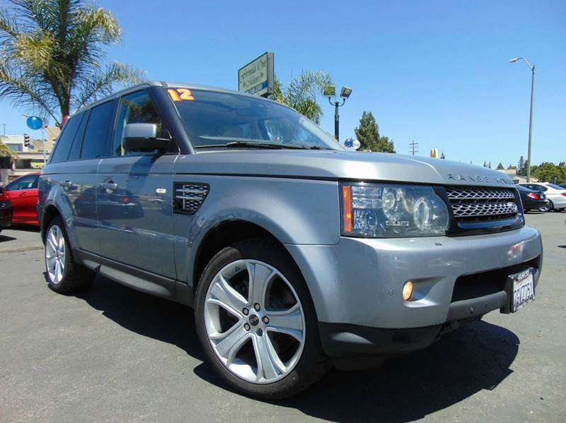 2012 LAND ROVER RANGE ROVER SPORT HSE LUX 4X4 4DR SUV gray california vehiclesport package