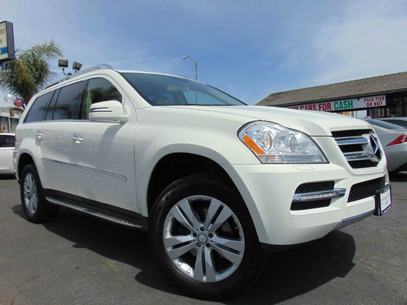 2012 MERCEDES-BENZ GL-CLASS GL 450 4MATIC AWD 4DR SUV white clean carfaxcalifornia vehicle