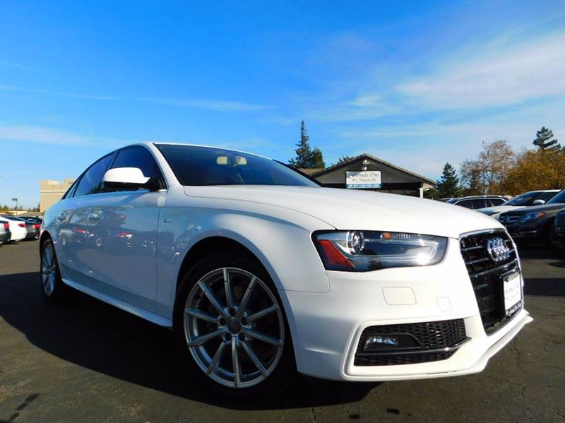 2015 AUDI A4 20T PREMIUM PLUS 4DR SEDAN white 2-stage unlocking doors abs - 4-wheel air filtra