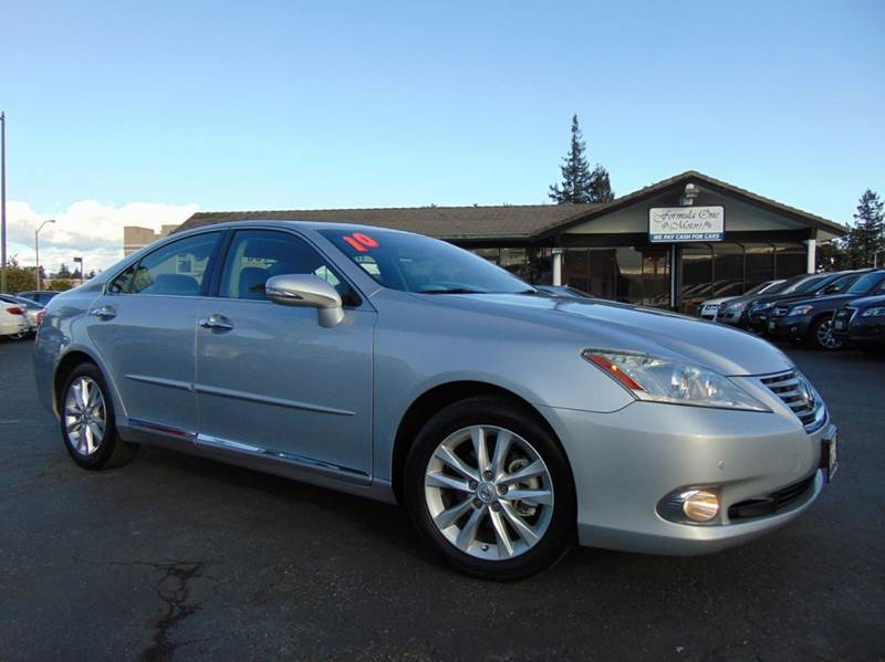 2010 LEXUS ES 350 BASE 4DR SEDAN silver clean carfaxcalifornia vehiclenavigationback up