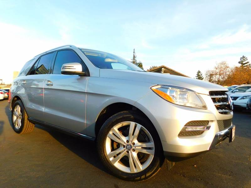 2013 MERCEDES-BENZ M-CLASS ML 350 BLUETEC AWD 4MATIC 4DR SU silver 2-stage unlocking doors 4wd ty