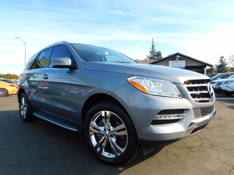 2014 MERCEDES-BENZ M-CLASS ML 350 BLUETEC AWD 4MATIC 4DR SU gray 2-stage unlocking doors 4wd type