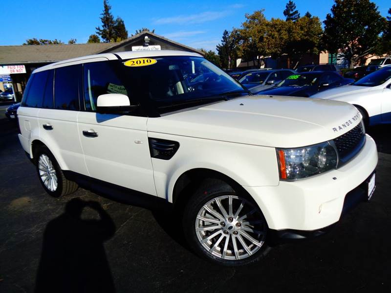 2010 LAND ROVER RANGE ROVER SPORT HSE 4X4 4DR SUV white clean carfax  low miles  sport