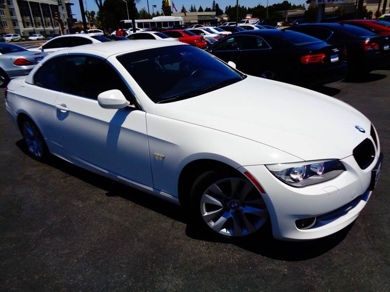 2012 BMW 3 SERIES 328I 2DR CONVERTIBLE SULEV white 2-stage unlocking doors abs - 4-wheel active