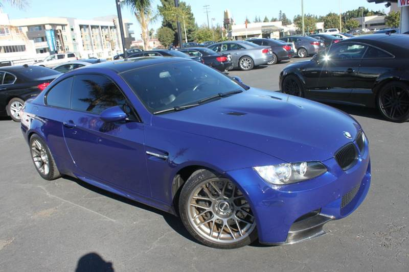 2008 BMW M3 BASE 2DR COUPE blue 2-stage unlocking doors abs - 4-wheel air filtration airbag de