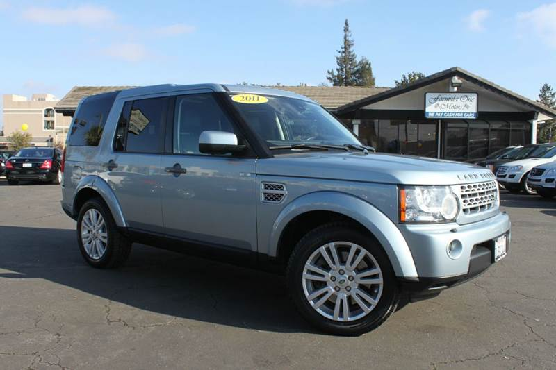 2011 LAND ROVER LR4 BASE 4X4 4DR SUV blue 2-stage unlocking doors 4wd selector - electronic hi-lo