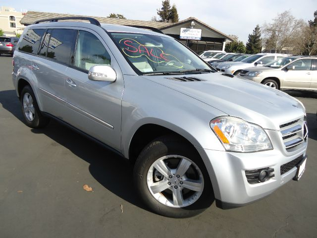 2007 MERCEDES-BENZ GL-CLASS GL450 iridium silver metalic beautiful 3rd row seat clean carfax  use