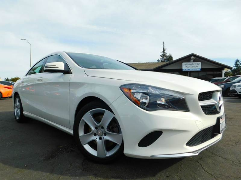 2017 MERCEDES-BENZ CLA CLA 250 4DR SEDAN white 2-stage unlocking doors abs - 4-wheel air filtra