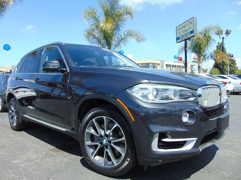 2014 BMW X5 XDRIVE50I AWD 4DR SUV gray one ownerclean carfax leather seatsnavigation