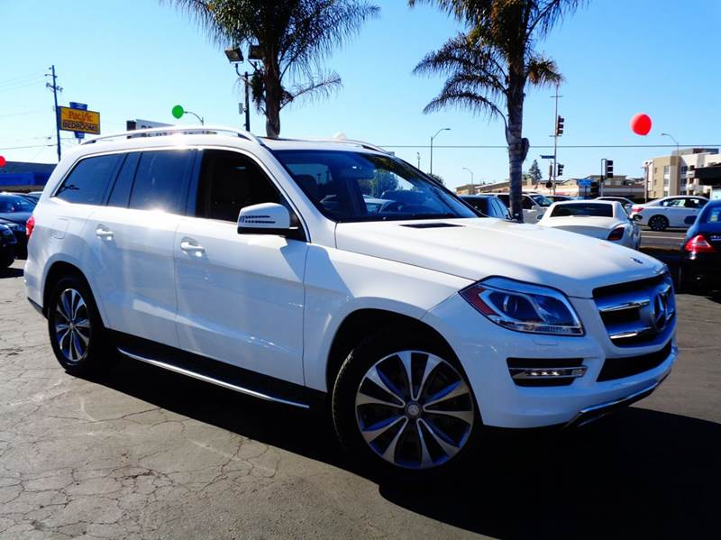 2014 MERCEDES-BENZ GL-CLASS GL450 4MATIC AWD 4DR SUV white 1 owner   clean carfax  loaded