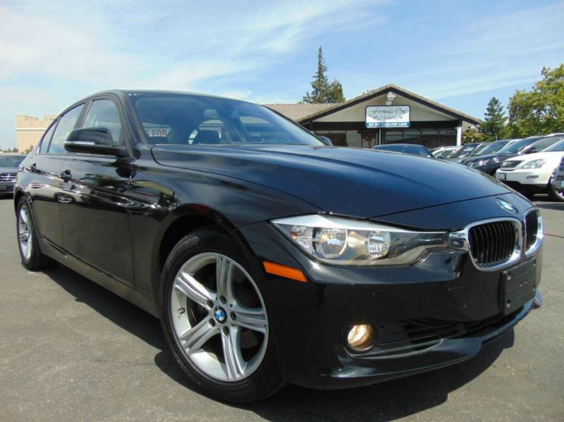 2013 BMW 3 SERIES 328I 4DR SEDAN black one ownerclean carfax reportcalifornia vehicle