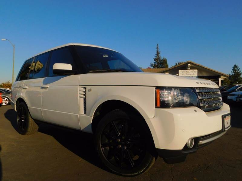 2012 LAND ROVER RANGE ROVER SUPERCHARGED 4X4 4DR SUV white 2-stage unlocking doors 4wd selector -