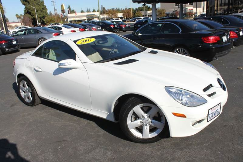 2007 MERCEDES-BENZ SLK SLK280 2DR CONVERTIBLE white 2-stage unlocking doors abs - 4-wheel air f