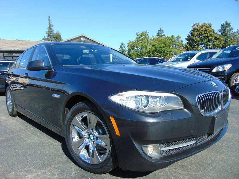 2013 BMW 5 SERIES 528I 4DR SEDAN gray one ownercalifornia vehicleclean carfax reportt
