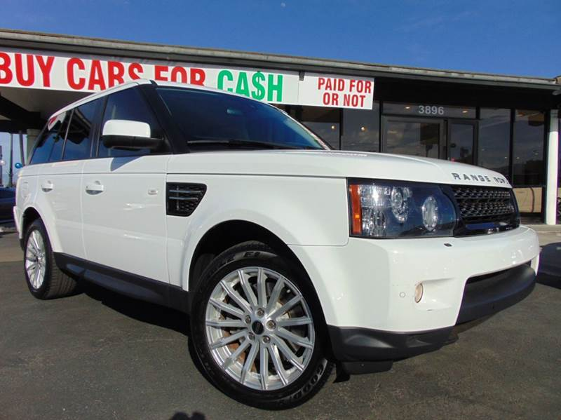 2013 LAND ROVER RANGE ROVER SPORT HSE 4X4 4DR SUV white california vehiclesport packageloa