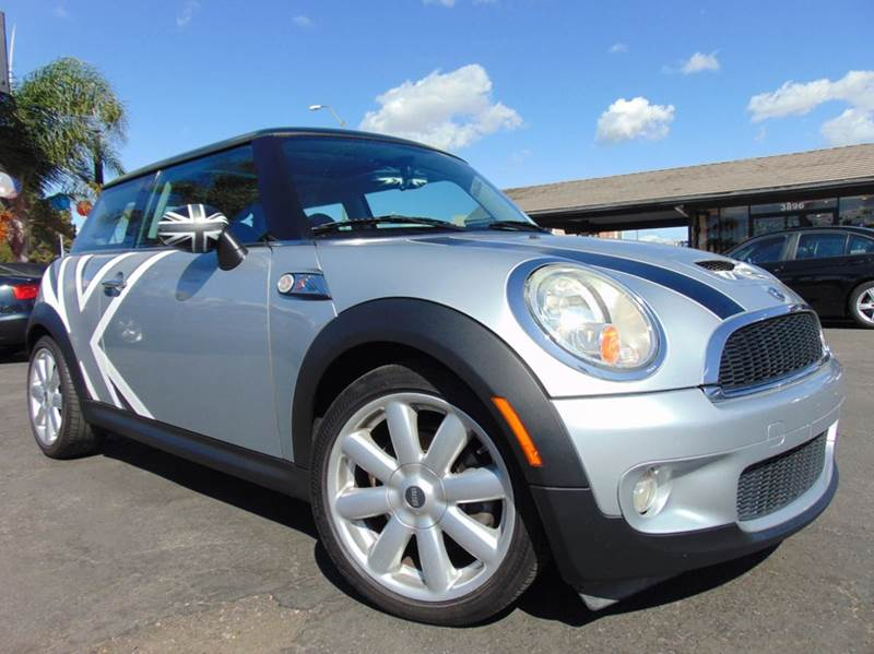 2008 MINI COOPER S 2DR HATCHBACK silver 2-stage unlocking doors abs - 4-wheel air filtration a