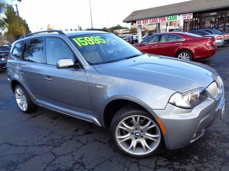 2008 BMW X3 30SI AWD 4DR SUV gray rare find 2008 bmw x3si  m-package sport navigation system