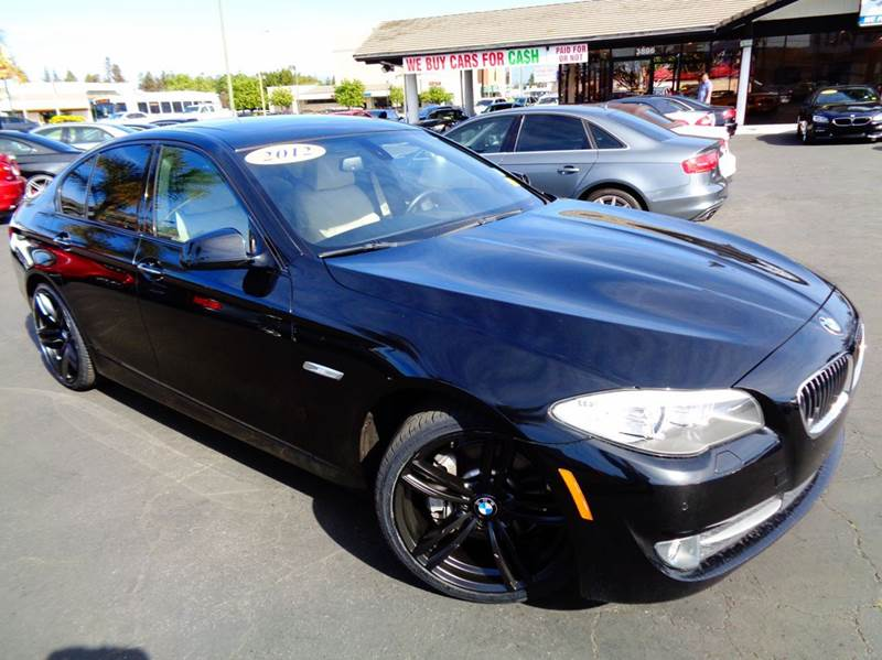 2012 BMW 5 SERIES 535I 4DR SEDAN dark gray navigation systemsport packagepremium package