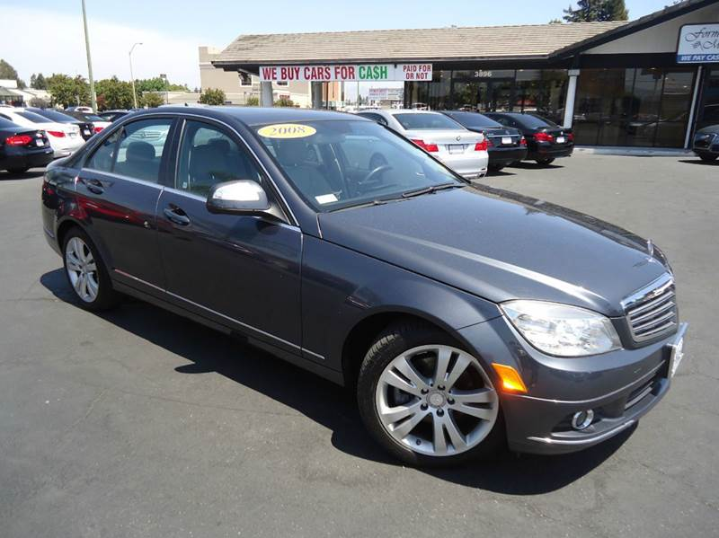 2011 MERCEDES-BENZ C-CLASS C300 SPORT 4DR SEDAN gray clean carfax california carequipped w