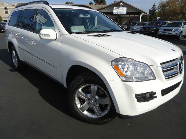 2007 MERCEDES-BENZ GL-CLASS GL450 arctic white one owner clean car fax california unitthe 7 passi