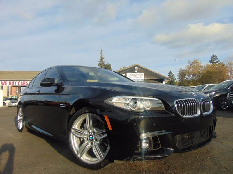 2014 BMW 5 SERIES 535I 4DR SEDAN black one ownerclean carfax reportthis beautiful 535 m sp