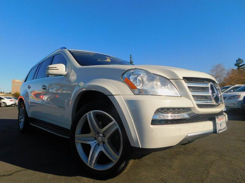 2012 MERCEDES-BENZ GL-CLASS GL 550 4MATIC AWD 4DR SUV white 2-stage unlocking doors 3rd row moonr