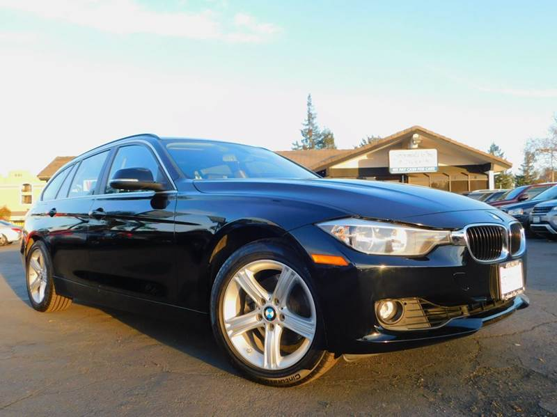 2015 BMW 3 SERIES 328I XDRIVE AWD 4DR WAGON black 2-stage unlocking doors 4wd type - full time a