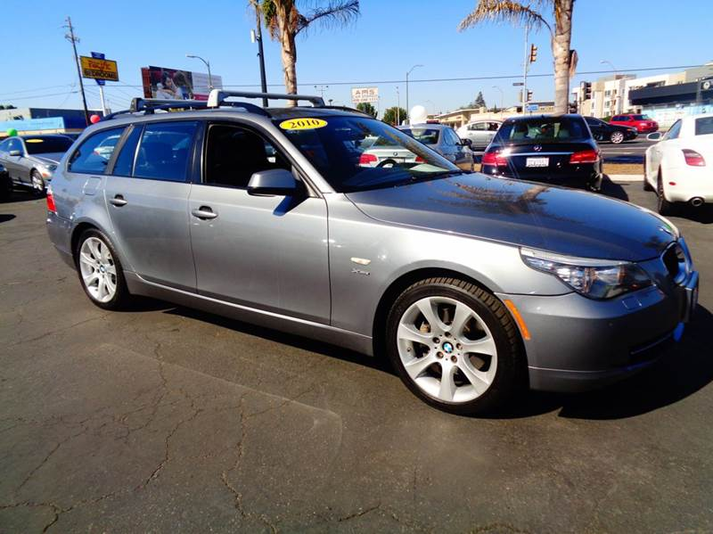 2010 BMW 5 SERIES 535I XDRIVE AWD 4DR WAGON silver california car 1 owner  clean carfax