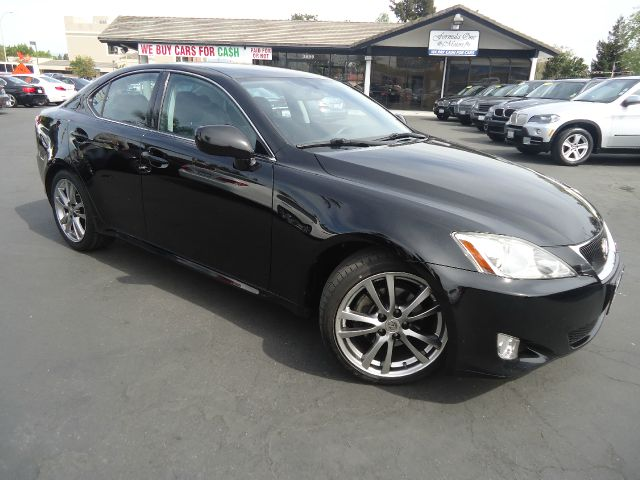 2008 LEXUS IS 250 BASE 4DR SEDAN 6A black sport luxury and performance all in one  full leath