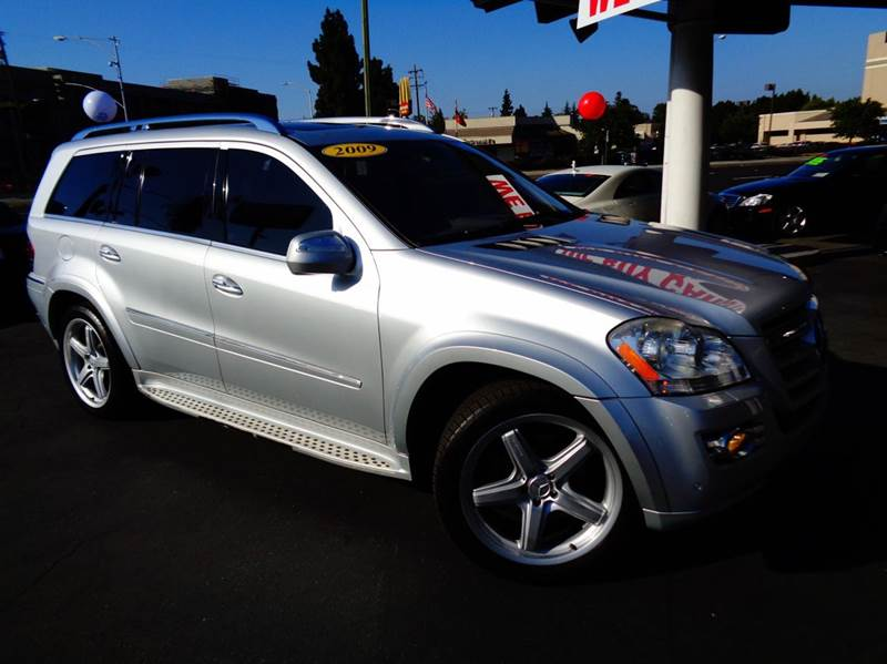 2009 MERCEDES-BENZ GL-CLASS GL550 4MATIC AWD 4DR SUV silver clean carfax 1 owner amg package
