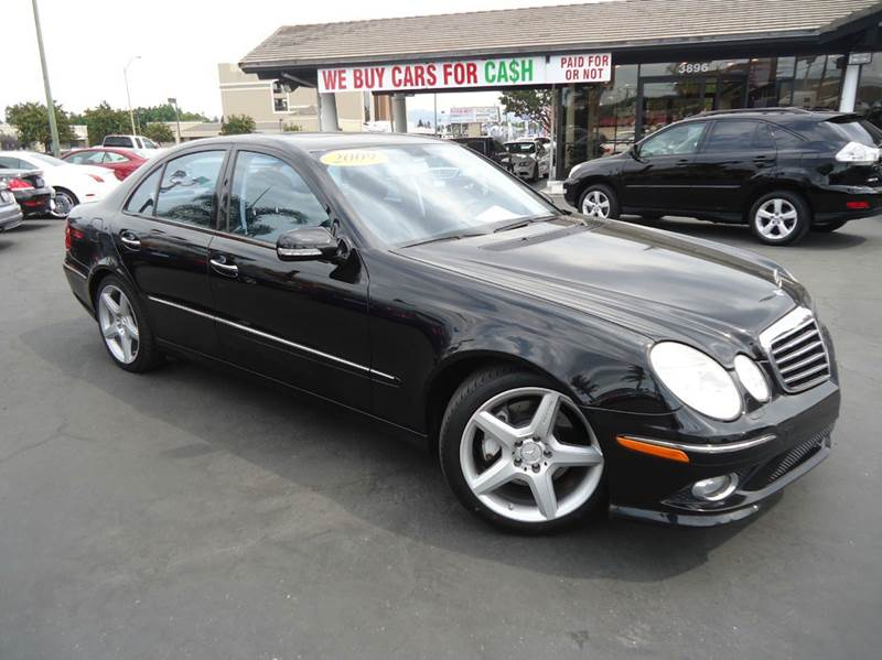 2009 MERCEDES-BENZ E-CLASS E350 4DR SEDAN black well kept clean title premium package l