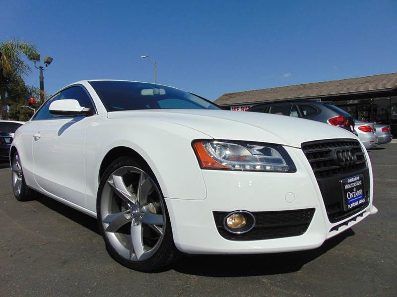 2011 AUDI A5 20T QUATTRO PREMIUM PLUS AWD 2D white clean carfaxcalifornia vehiclepremium