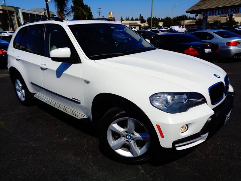 2009 BMW X5 XDRIVE30I AWD 4DR SUV white clean car fax only 53k milespremium pkgrear climate p