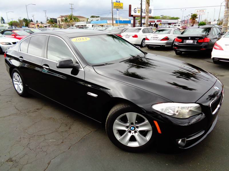 2013 BMW 5 SERIES 528I 4DR SEDAN black 1 owner clean carfax loaded navigation systemp